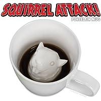 Accoutrements Squirrel Attack Porcelain Mug