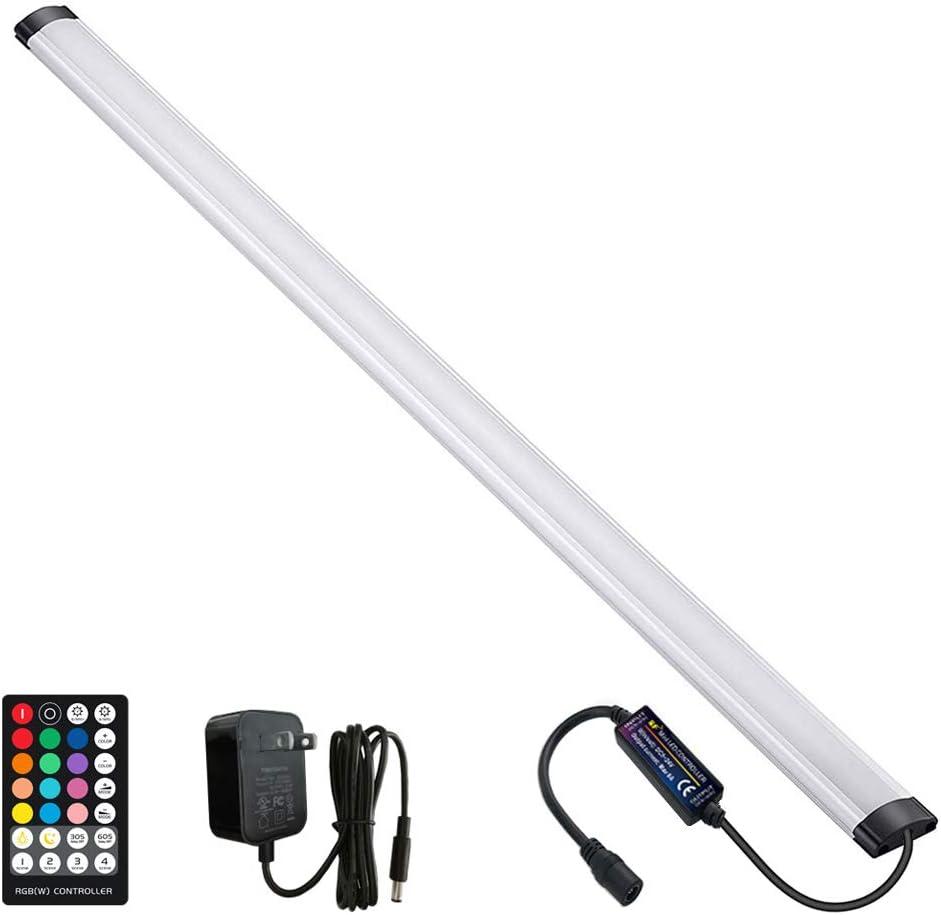 ALIDE Under Kitchen Cabinet Counter Desk LED Light Bar 12V Plug in 38cm Waterproof Under Closet Shelf Lights with Adapter /& Magnet Lights with Adapter /& Magnet 3000K Warm White 3 Colors Mode 6000K Cool Daylight White