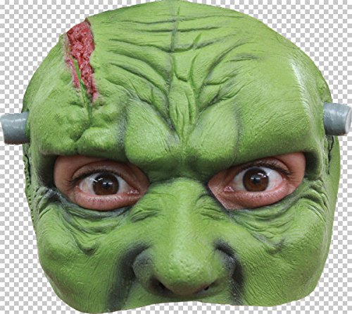 Générique FAC mahal673-Frankenstein Latex Half Mask Adult