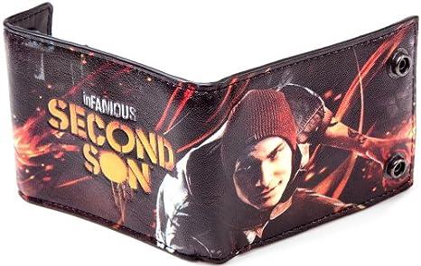 inFAMOUS Geldbeutel Second Son Geldbörse Postemonnaie Brieftasche