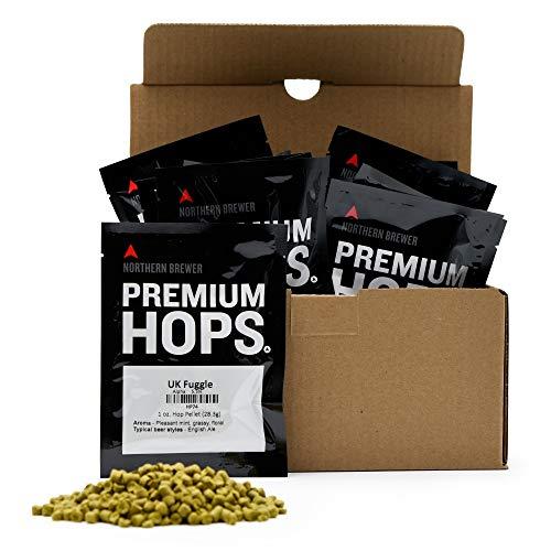 Northern Brewer - Hop Sampler Pack - 1 lb of Premium Assorted Hop Pellets (European Noble Hops) for Homebrewing Beer Making 1 pound