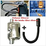 FidgetKute Air Intake Silencer Muffler Exhaust Silencer Kit for Webasto - Eberspacher& Heater