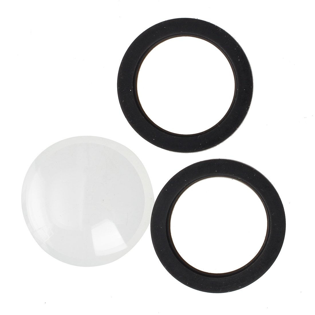 SODIAL(R) Glass Cover Lens Replacement Kit for Gopro Hero 2/1 Waterproof Housing Case 020955