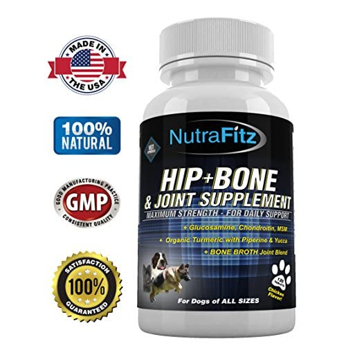 cheap NutraFitz Hip and Joint Supplements for Dogs - Glucosamine