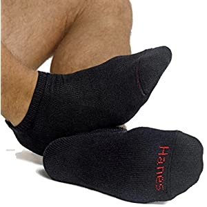 Hanes Men's FreshIQ No-Show Socks, 12 Pack