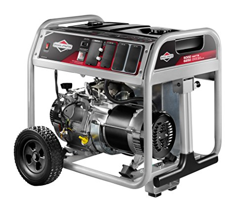 Briggs & Stratton 30681 5000 Running Watts/6250 Starting Watts 389cc Gas Powered Portable Generator Briggs and Stratton Power Products