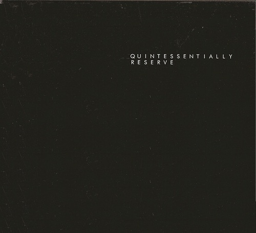 Quintessentially Reserve 2010 pdf epub