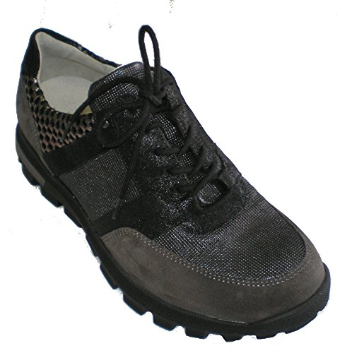 Waldläufer Grey women's Waldläufer sneaker women's Leather paqan0B5