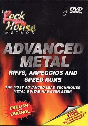 The Rock House Method: Advanced Metal Riffs, Arpeggios & Speed Runs: 2nd Edition ()