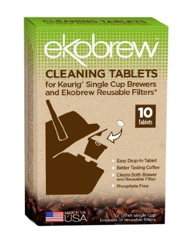 EKO BRANDS LLC CLEANING TABLET FOR BREWE