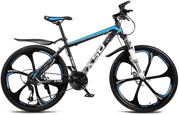 Mountain Bike Bicicleta para joven Carretera Bicicletas Bicicletas Adolescentes Adultos MTB Bicicleta Ciudad Amortiguador de bicicletas de montaña de velocidad ajustable for hombres y mujeres de doble: Amazon.es: Hogar