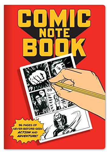 Comic Book Notebook - Filled With Blank Panels for Creating Your Own Comics - 7