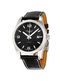 Longines Conquest Classic Black Dial Automatic Mens Watch L2.785.4.56.3