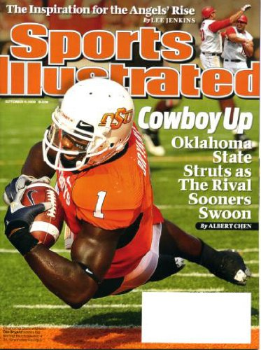 Sports Illustrated September 14 2009 Dez Bryant Oklahoma