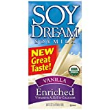 Soy Dream Soymilk, Enriched Vanilla, 32 Ounce (Pack of 12)