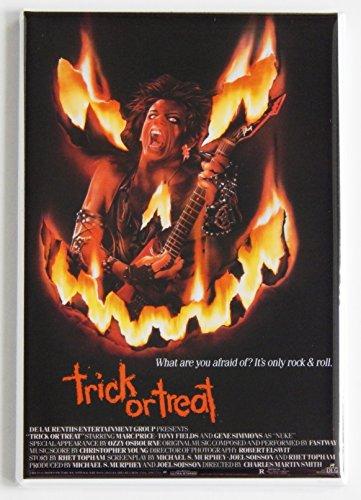 Trick or Treat Movie Poster Fridge Magnet (2 x 3 -