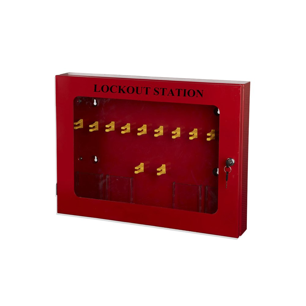 Loto Safety Steel Lockout Kit 580X430X90mm BOSHI BD-X09