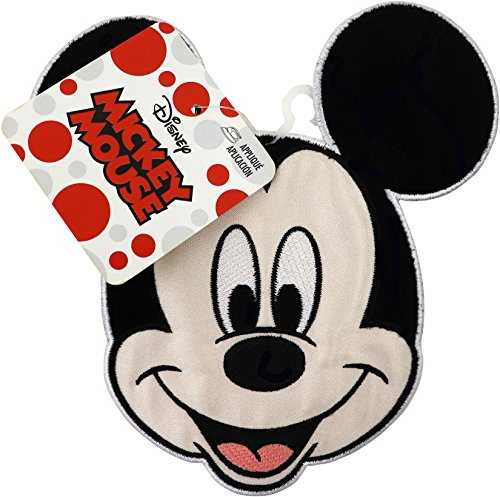 Iron Mickey Mouse - Wrights 1938400001 Disney Iron-On Applique-Mickey Mouse