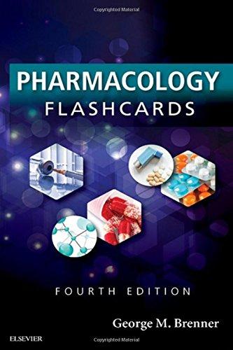 Pharmacology Flash Cards, 4e