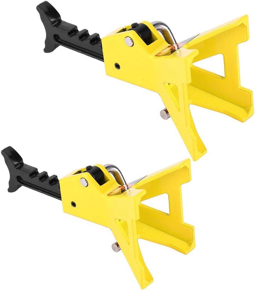 VGEBY1 RC Lifting Jack 3tone 2pcs 1//10 Mini Simulation Metal Jack Stands Yellow Fits for D90 SCX10 RC Crawler Model Car