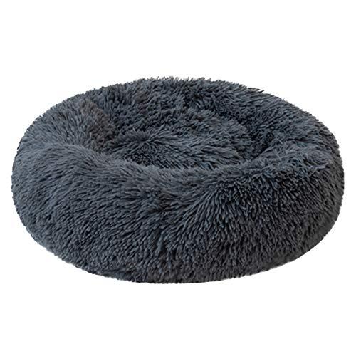 Boodtag Haustierbett Plüsch Weich Runden Hunde Katze Schlafen Bett 50-70cm Kissen Für Katzen Hunde Katze Schlafen Bett…