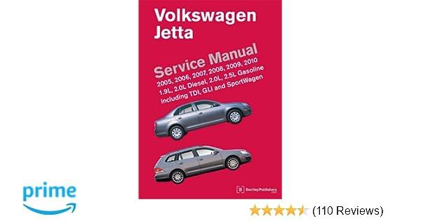volkswagen jetta a5 service manual 2005 2006 2007 2008 2009 rh amazon com 2010 jetta tdi owners manual pdf 2010 jetta tdi owners manual pdf