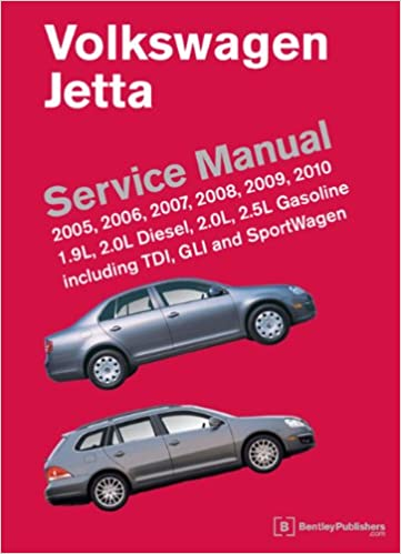 volkswagen jetta (a5) service manual: 2005, 2006, 2007, 2008, 2009, 2010:  bentley publishers: 9780837616162: amazon com: books