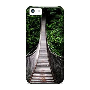 Protection Cases For Iphone 5c / Cases Covers For Iphone(footbridge)
