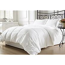 Elegant Comfort Luxury White Down Alternative Comforter Duvet Insert Queen