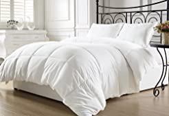 KingLinen White Down Alternative Comfort...