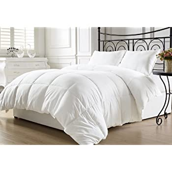 duvet plush quilted full reversible insert white comforter tabs with corner