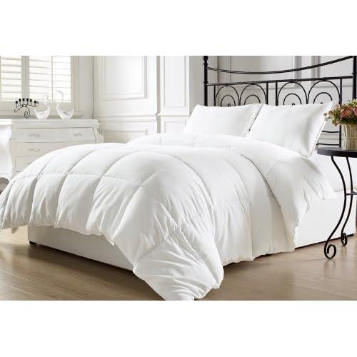 KingLinen White Down Alternative Comforter Duvet Insert King for cheap