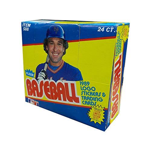 (1989 Fleer Baseball Cello Box)