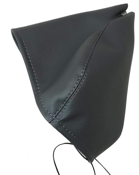 gris oscuro AERZETIX Funda para palanca de cambios de piel sint/ética con costuras de colores variables