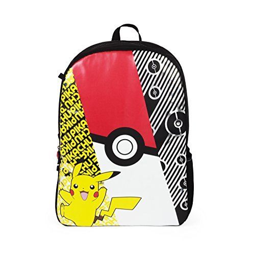 Pokemon Pikachu Multi Colored Backpack- School Bag Photo - Pokemon Gaming