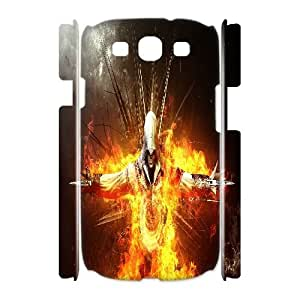 Diy Assassins Creed 3D Cell Phone Case, DIY Durable Cover Case for Samsung Galaxy S3 I9300 Assassins Creed