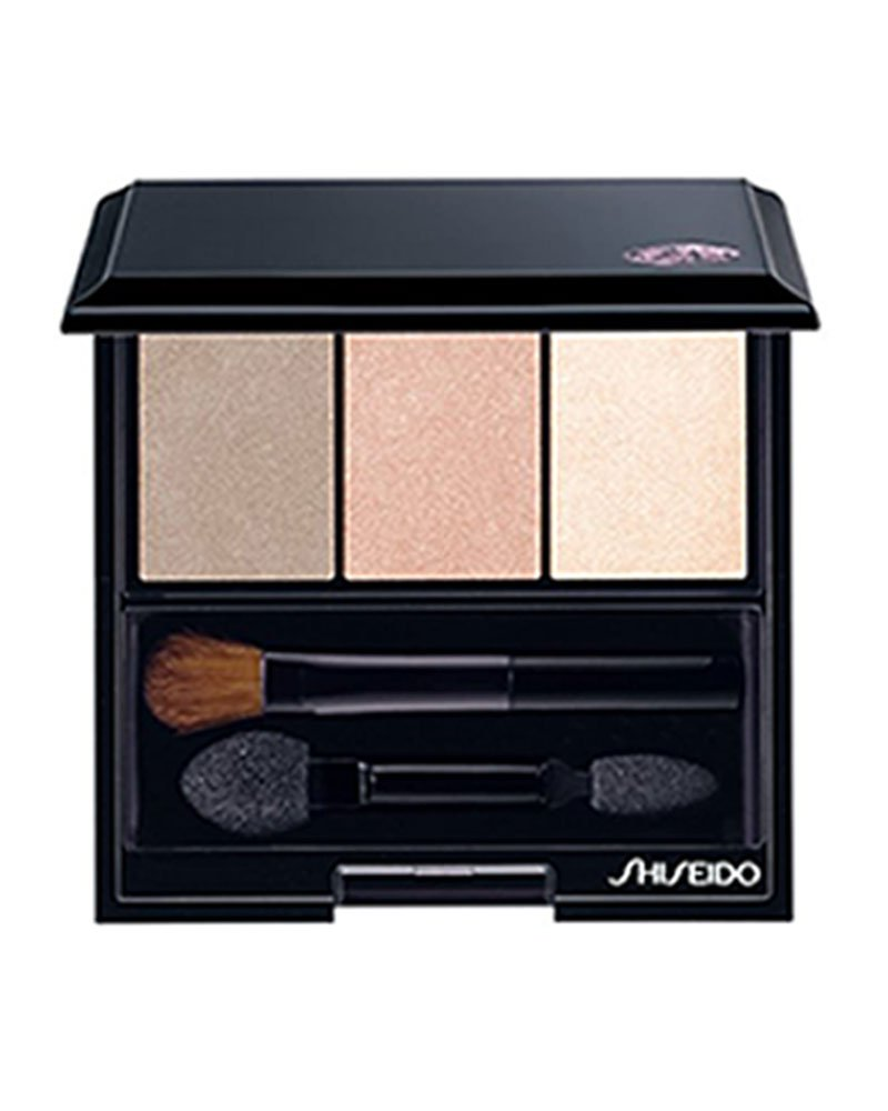 Shiseido Shiseido luminizing satin eye color trio - #be213 nude, 0.1oz, 0.1 Ounce