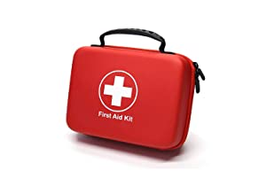 Compact First Aid Kit (228pcs) Designed for Family Emergency Care