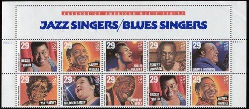JAZZ & BLUES SINGERS ~ MUDDY WATERS ~ ROBERT JOHNSON ~