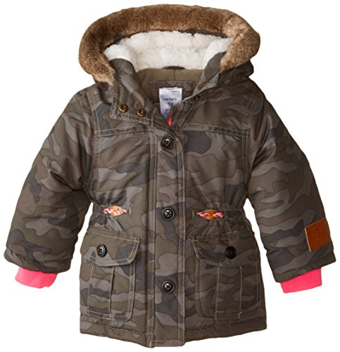 Carter's Baby Girls' Heavyweight Single Jacket