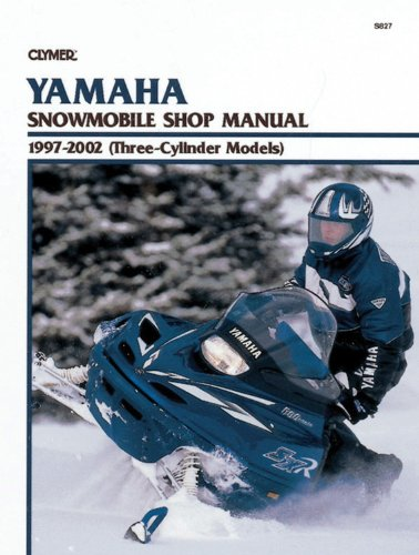 Yamaha Snowmobile Shop Manual 1997-2002 (Three-Cylinder Models) (Clymer Snowmobiles) ()