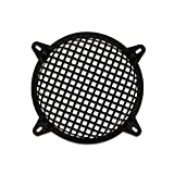 Goldwood Subwoofer Grille and Hardware 8'' Steel Waffle Speaker Woofer Grill Black (SWG-8C)