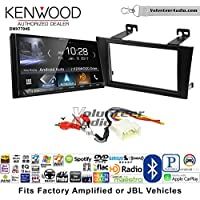 Volunteer Audio Kenwood DMX7704S Double Din Radio Install Kit with Apple CarPlay Android Auto Bluetooth Fits 2000-2004 Toyota Avalon with Amplified System