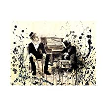 Tom Waits Poster Print by Lora Zombie (20 x 14)