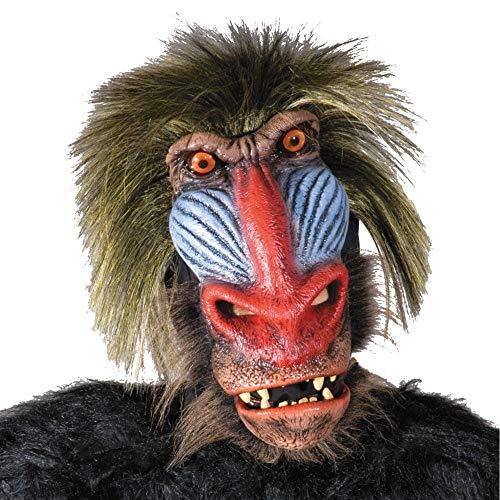 Zagone Super Action Chimp Mask, Primate Animal]()