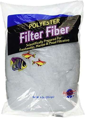 Blue Ribbon Pet Products ABLPLY4 Polyester Floss Bag Filter Media, 4-Ounce by Blue Ribbon (Blue Ribbon Polyester Floss)