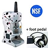 NSF Taiwan Snow Ice Shaver - Foot Pedal - Shaved