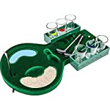 GOLF DRINKING GAME-Vintout 12 Pc Mini Table Golf Drinking Game Set With Shot Glasses and Acsesories-Green
