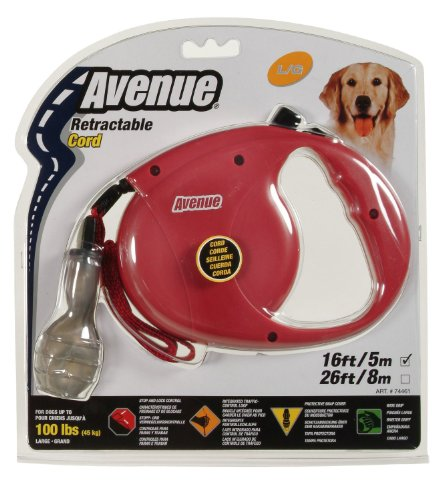 Red 26' Retractable Leash - 9