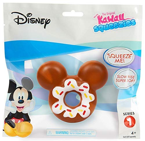Kawaii Just Play Squeezies Mickey Donut, Multicolor]()